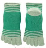 Противоюзовое Non-Slippery сжатие Socks носок пальца ноги йоги