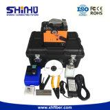 ShinhoのセリウムのRoHSの公認の自動口径測定のファイバーの接続機械