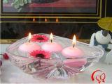 De drijvende MiniKaarsen maken Het Decor van het Huis van de Staaf van de Partij van het Huwelijk van de Paraffine waterdicht