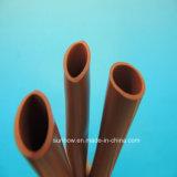 90c Iniciando Reduzir Red Rota Resistência ao desgaste Silicone Rubber Shrinkable Tube