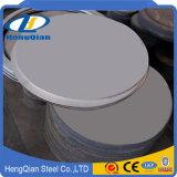 ASTM 201 hoja de acero inoxidable del Ba 304 316 430 2b (círculo del corte)
