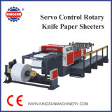 KS-una serie de control servo Cuchilla giratoria máquinas Sheeter Rollo de papel