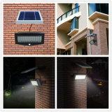 10W éclairage solaire mur de sécurité PIR Lumière LED extérieure Lampe solaire à économie d'énergie