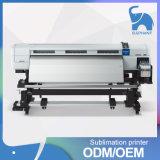 大きいフォーマットのデジタル織物の平面印字機