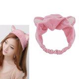 Headband elástico quente da faixa do cabelo dos ornamento principais de chuveiro da lavagem da venda