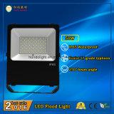 3 anni della garanzia LED di indicatore luminoso di inondazione 50W IP65 per uso esterno con 110lm/W e l'angolo a fascio da 270 gradi
