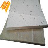Panneau de plafond acoustique de fibre minérale tégulaire de faible densité