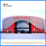 Matériau de construction de placage en aluminium Panneau mural de décoration pour la construction de façade, plafond et le toit