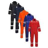 Flammhemmende Farben-reflektierende schützende Sicherheits-Arbeitskleidung