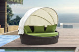 Daybed esterno del vimine dei Loungers di Sun della mobilia