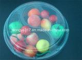 Caixa de bolacha de salada de frutas transparentes de PVC