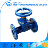 DIN 3202 F4 Flanges Resilient Seat Gate Valve