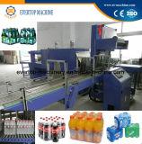 Macchina imballatrice lineare automatica di imballaggio con involucro termocontrattile