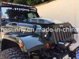 Acero caliente 07-16 del negro de la alta calidad de la venta de Lantsun para el capo motor del vengador del Wrangler del jeep