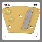 사다리꼴 PCD Skraper 의 구체적인 지면 PCD 코팅 제거제, PCD 에폭시 제거제