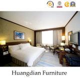 標準的な様式によってカスタマイズされる木のホテルの家具の寝室の家具(HD427)