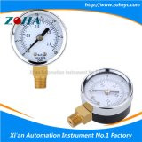 Escala doble por encargo de la mini de presión del compresor de aire dial del calibrador