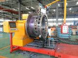 Plasma de commande numérique par ordinateur et machine de découpage de pipe de plaque en acier d'Oxy-Essence
