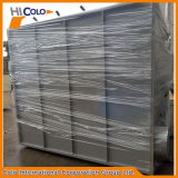 Cabina di spruzzo manuale del rivestimento della polvere dell'acciaio inossidabile con i filtri facili dal cambiamento