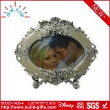 Wedding heißer Mädchen-Foto-Rahmen-ovaler Metallfoto-Rahmen