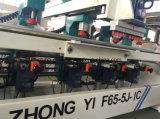 Het meeste Professioneel Houten Meubilair 4 Boring Machine van de Scharnier van Hoofden de Houten (F65-4J)