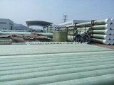 FRP GRP Polyester-Fiberglas-zusammengesetztes Prozessrohr in Dn25-4000mm