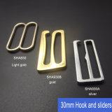 Le fil et le nickel libèrent le clip en métal de 30mm pour la boucle/glisseur/crochet de soutien-gorge de soutien-gorge