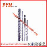 Barril de parafuso simples bimetálico para máquina de extrusão