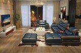 가정 거실 가구 현대 단면도 구석 가죽 소파 (HX-SN060)