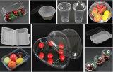 Plastikfrucht-Maschinenhälften-Blasen-verpackenbehälter-und Frucht-Kuchen-Verpacken