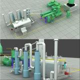 10T/D 20t/d'installations de distillation d'huile à l'huile diesel et essence