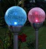 Rgb-buntes Solargarten-Licht-Solarrasen-Licht