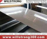 Panneau composé en aluminium de PVDF pour le matériau de panneau indicateur d'étalage