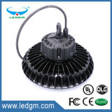 O design modular do fornecedor da China alto lúmen OVNI Luz High Bay LED 150W Industrial Light