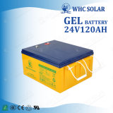 Batteria all'ingrosso del gel della batteria solare 24V 120ah di lunga vita
