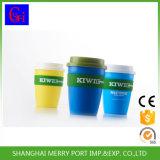 Angemessener Preis-Plastikkaffeetasse mit dem Silikon rund