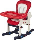 Europäischer Standard-Plastikbaby-Produkte, die hohen Stuhl mit Schalthebel Ca-Hc520 führen