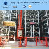 Het pakhuis Geautomatiseerde Rek van de Opslag (AS/RS) voor de Oplossing van de Logistiek