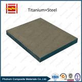 Alliage de titane Plaque bimétallique / Soudage explosif Matériaux en titane