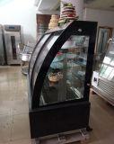 Réfrigérateur en verre commercial d'étalage/ce d'étalage frigorifié par dessert reconnu (KT780AF-S2)