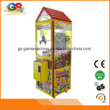 Venta caliente del equipo del parque de atracciones de la máquina del juguete de los niños de la grúa de la moneda