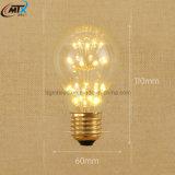 Bombilla de ahorro de energía 1W 2700K E27 chandeleir vela de la lámpara LED