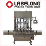 판매를 위한 중국 Labelong 자동적인 선형 유형 기름 충전물 기계