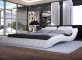 Base di legno moderna di lusso del re Size Style Bedroom Furniture (HC310)