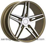 Roues F9938 avec des RIM de roue d'alliage de véhicule de la bonne performance 19X9.5 5X120 pour la BMW