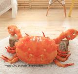 Het zachte Gevulde Stuk speelgoed van de Krab van het Hoofdkussen