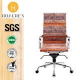 Moda moderna de PVC / MDF Oficina muebles de madera (AT013)