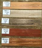 Azulejo de suelo de madera de cerámica del material de construcción