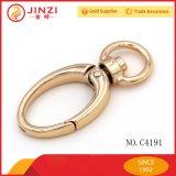 Der meiste populäre Metallschwenker-Verschluss-Haken mit unterschiedlichem Form-Ring