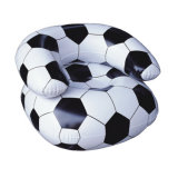 아기를 위한 팽창식 소파 의자가 축구에 의하여 크기 농담을 한다